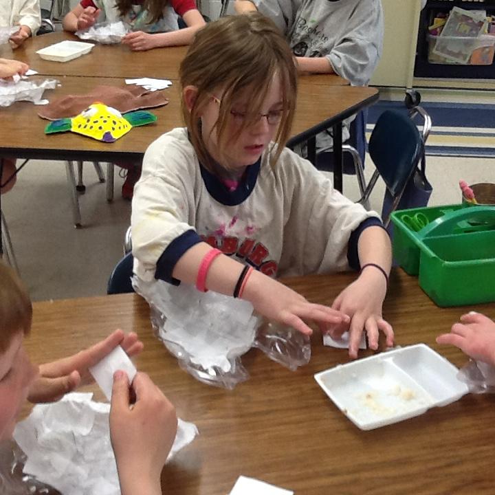 Paper Mache Animal Masks   Nerstrand Elementary