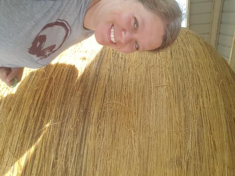 I saw the world's largest twine ball!