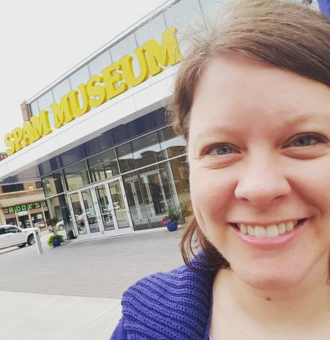 I went to a teacher's conference in Austin and visited the SPAM Museum!